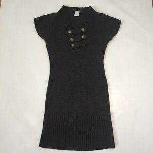 B Smart Vintage Short sleeves sweater dress